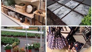 Final de semana comigo -vlog - lojas - plantas -passeio