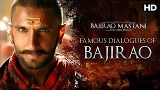 Ranveer Singh's Best Dialogues | Bajirao Mastani