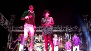 Wema Sepetu & Diomond LIVE Perfomance @Morogoro1