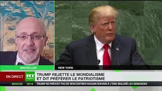 Trump à l'ONU : «Un discours électoral»