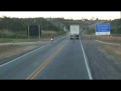Viação Salutaris Passando pela Divisa Minas Gerais Bahia BR 116
