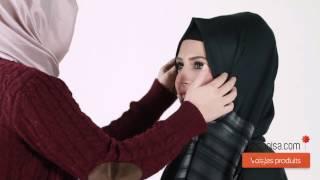 Modanisa - Şal Nasıl Bağlanır? - Model 38 - 2014 Şal Bağlama Modelleri - 2014 Hijab Tutorials