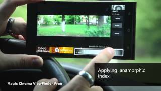 Magic Cinema ViewFinder Free app -- New Demo Video Download