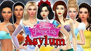 Let's Play the Sims 4: Disney Princess Asylum Challenge Episode 1