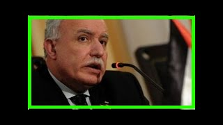 News 24/7 - The Palestinian Foreign Ministry: we no longer play a role in the peace process of the