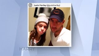 Justin Hartley on His 12-Year Old Daughter
