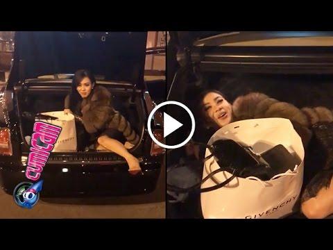 Bertemu Lady Gaga, Syahrini Ngumpet di Bagasi - Cumicam 04 Januari 2017