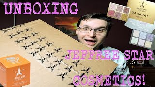 UNBOXING JEFFREE STAR COSMETICS! | REVIEW + SWATCHES