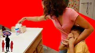 Mother Shoves Soap In Kids Mouth - Supernanny US