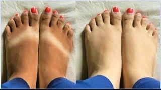 Feet Whitening Pedicure At Home - SKIN POLISHING,Remove Suntan,Wrinkle Free Skin,Skin Whitening