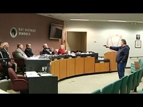 Xxx Mp4 Gunman Kills Self After Opening Fire On Florida School Board Nightline ABC News 3gp Sex