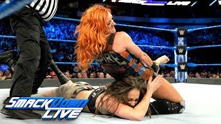 Becky Lynch & Naomi vs. Liv Morgan & Sarah Logan: SmackDown LIVE, March 20, 2018