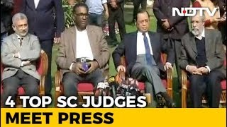 4 Supreme Court Judges: Democracy is at stake in India