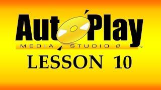 تعلم AutoPlay Media Studio و برمجة تطبيقات الويندوز - 10- تحجيم النافذه و المحتوى تلقائياً