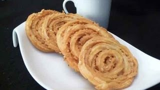 Chakli (Chakri Murukku) Crispy Spiral Snacks Indian Recipe