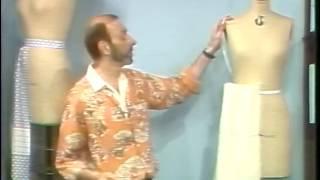 Methods of Basic Draping, v. 9. Basic Dirndl Skirt