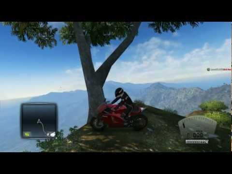 TDU2 Ducati Y el Motorista Fantasma