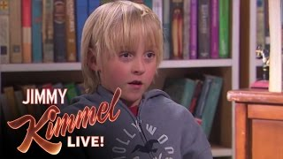 Jimmy Kimmel Talks to Kids - What's the Difference Between a Boy & a Girl?
