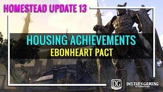 ESO Achievements - Ebonheart Pact
