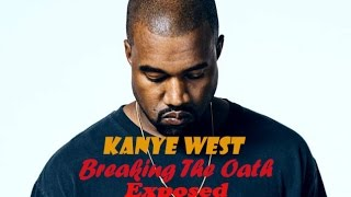 Kanye West Breaking The Oath & Will Be Cloned Or Under MK Ultra Mind Control (Channel Update)