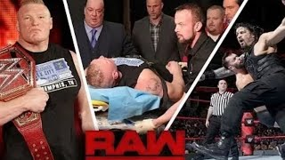 WWE MONDAY NIGHT RAW 8TH JAN 2017 HIGHLIGHTS - WWE RAW 8/01/2017 HIGHLIGHTS HD
