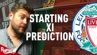 Leicester v Liverpool   Starting XI Prediction LIVE