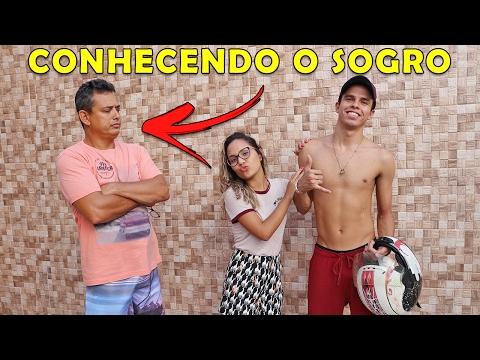 CONHECENDO O PAI DA NAMORADA KIDS FUN