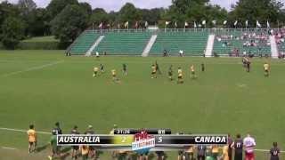 WU23 2015 | Australia vs Canada (Mixed) - Semifinal