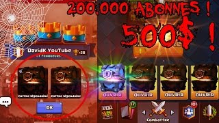 Clash Royale - Pack Opening Halloween Legendaire Super Magical Chest Incroyable