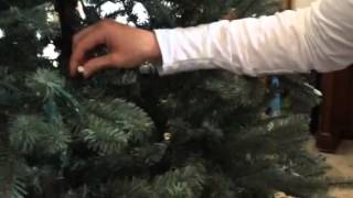 Super easy way to fix your GE prelit Christmas tree's dead light strand