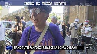 Con coppa Cobram Firenze ricorda Fantozzi - Agorà Estate 31/07/2017