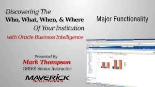 Oracle BI for Higher Education