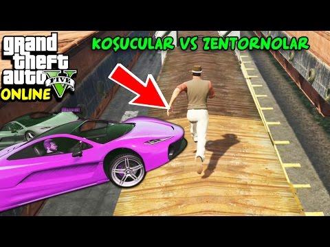 KOŞUCULAR vs ZENTORNOLAR! | EKİPLE GTA 5 ONLINE