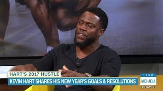 Kevin Hart opens up about his goals for 2017