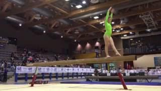 Camilla Falvo - trave - Campionato Nazionale CSI 2016