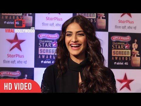 Soonam Kapoor | 22nd Annual Star Screen Awards 2016 | Star Plus