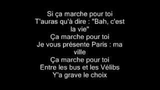 Maitre Gims - Ca Marche (paroles)