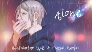 Nightstep ~ Alone (w/lyrics!!!)