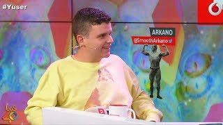 Arkano improvisa en contra de los tatuajes de Dani Mateo #yuser