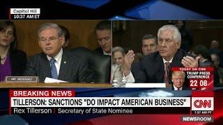Tillerson: Sanctions harm U.S. businesses