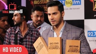 Varun Dhawan Full Interview | Big Star Entertainment Awards 2015