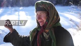 Russia: Help reaches oldest Russian hermit Lykova as she runs out of supplies