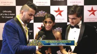 Star Parivaar Awards 2017: Shivangi Joshi & Mohsin Khan from 'Yeh Rishta Kya Kehlata Hai'