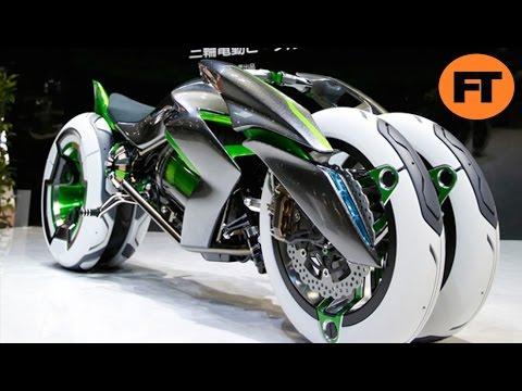 Top 10 Las Motos Futuristas Más Impresionantes