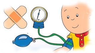 Cartoons for Kids   Caillou eats too much   Funny Animated Cartoons for Kids