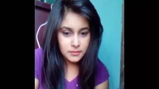 মেয়েটির লজ্জা বলতে কিছুই নেই লাইভে সব খোলামেলা  | Bangla Cute Girl facebook live 2017
