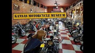 WORLD RIDE 2017    EP.98    KANSAS MOTORCYCLE MUSEUM, USA