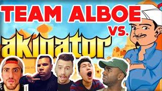 THE AKINATOR VS. TEAM ALBOE!!!