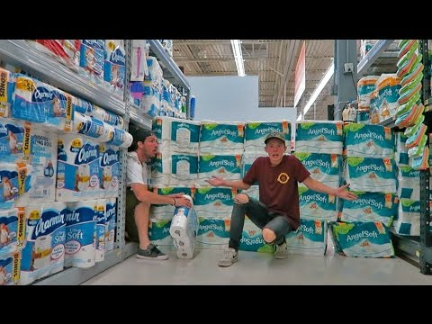 THE TOILET PAPER FORT VILLAGE