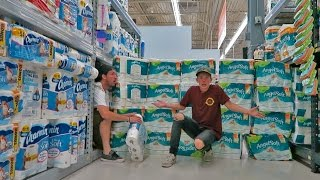 THE TOILET PAPER FORT VILLAGE!